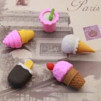 Ластик в виде мороженого