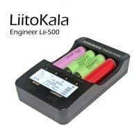 Liitokala lii500 ЖК-Зарядное устройство с дисплеем для 3.7 В 18650 26650 18500 18640 батарей