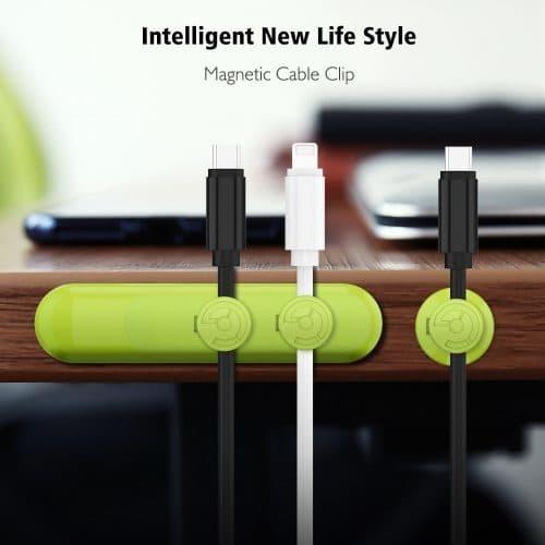 Магнитный держатель шнуров, кабелей, проводов, наушников