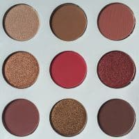 Матовые водостойкие тени для век 9 оттенков FLOSSY SUNFLOWER (реплика Kylie Jenner)