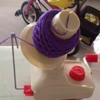 Моталка приспособление для ручной перемотки ниток и пряжи в клубки