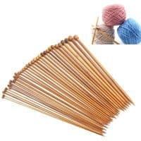 Набор бамбуковых спиц 2.0 мм – 10.0 мм для вязания 36 шт.