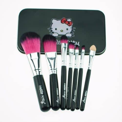 Набор кистей для макияжа 7 шт. Hello Kitty