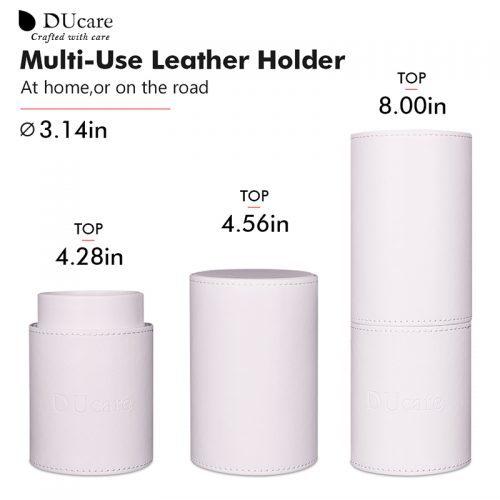 Набор кистей для макияжа в футляре 8 шт.