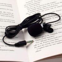 Нагрудный петличный микрофон клипса для телефона