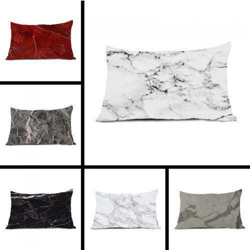 Наволочка на подушку с мраморной структурой (36 х 50, 40 х 50, 40 х 60, 50 х 65, 50 х 75 см)