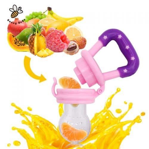 Ниблер для кормления (детская силиконовая соска для ягод, фруктов)