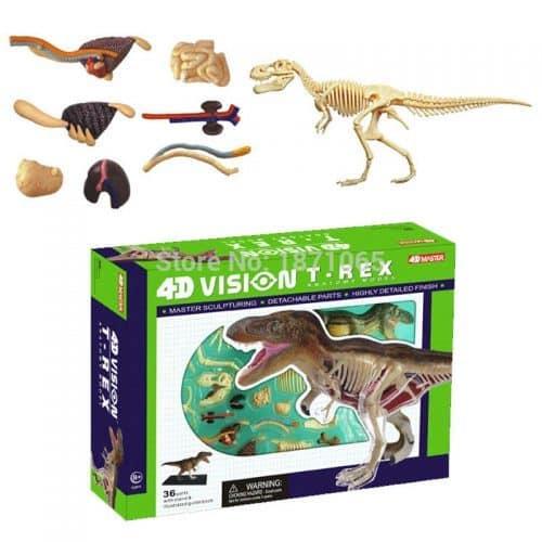 Объемные анатомические модели животных 4D (мамонт, тигр и многие другие)