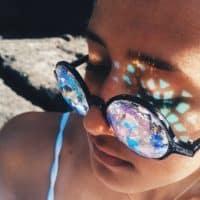 Очки-калейдоскопы женские