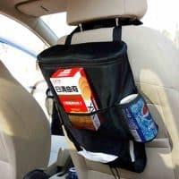 Органайзер термосумка-холодильник автомобильная для еды с креплением на сиденье