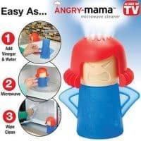 Пароочиститель для микроволновки Злая мама