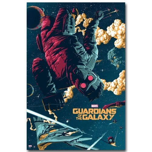 Плакат Стражи Галактики (Guardians of the Galaxy)