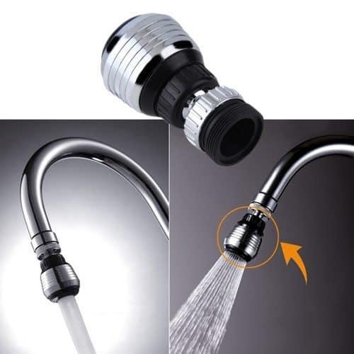 Поворотный аэратор насадка для смесителя для экономии воды на кухню или в ванную