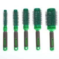 Профессиональная щётка брашинг расческа для укладки волос (меняет цвет при нагревании)