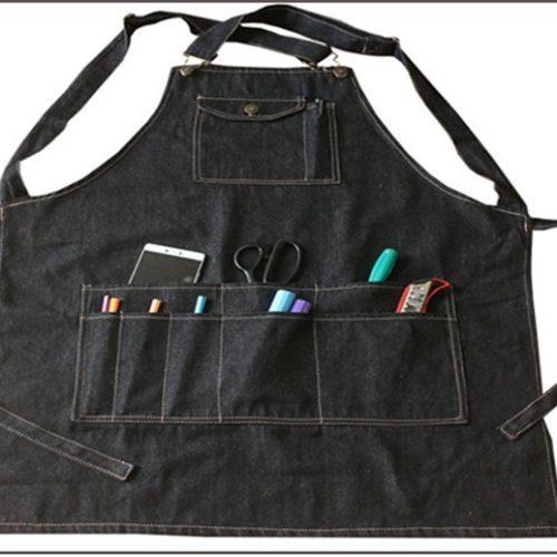 Рабочий фартук с карманом для мастера парикмахера