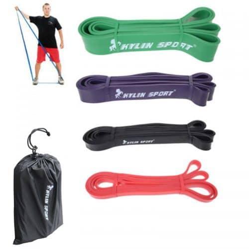Резиновые петли для тренировок, фитнеса (в наборе)