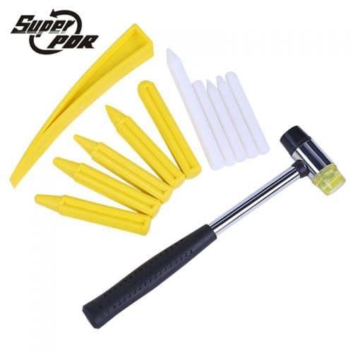 Рихтовочный набор инструментов для ремонта вмятин без покраски по технике PDR (молоток, керны)