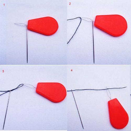 Ручной нитевдеватель для швейных машин