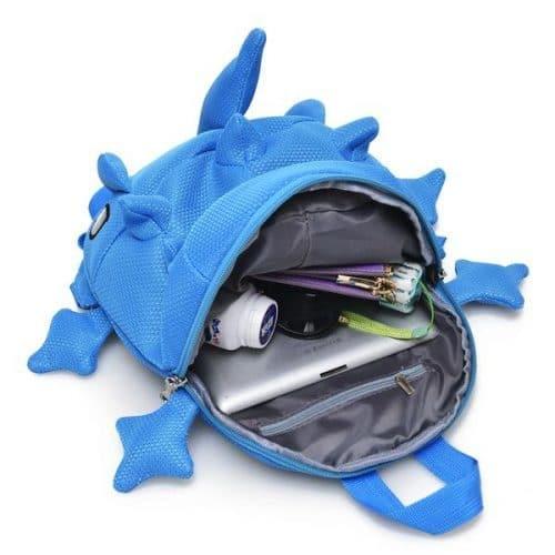 Рюкзак в виде динозавра с шипами детский и взрослый