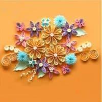 Шаблоны-картинки для квиллинга (цветы, бабочки и др.)