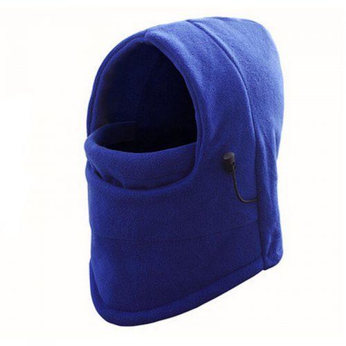 Шапка-шарф балаклава шлем зимняя теплая флисовая для зимней рыбалки, катания на лыжах, сноуборде