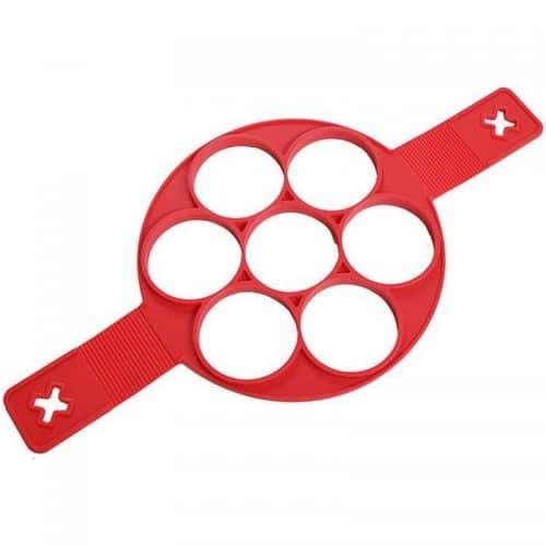Силиконовая форма для ровных блинов, оладий, яичницы или панкейков