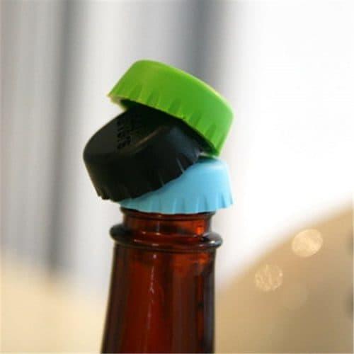 Силиконовые крышки для бутылок (в наборе 6 шт.)
