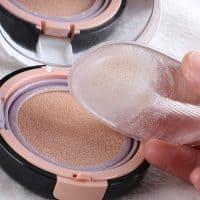 Силиконовый спонж для макияжа, нанесения тонального крема