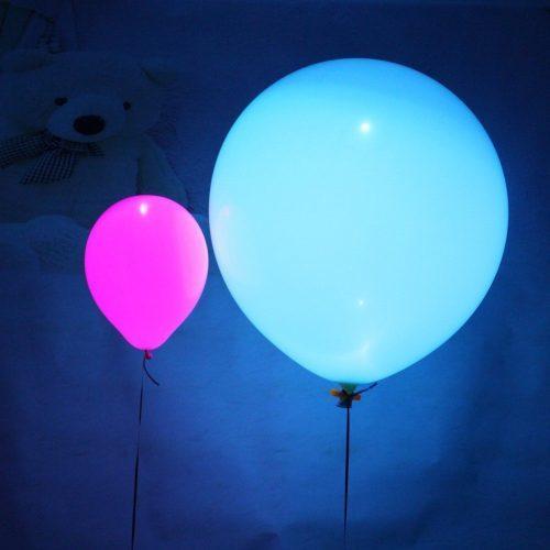Светодиодные светящиеся воздушные гелиевые латексные шары 12 дюймов в наборе 50 шт.