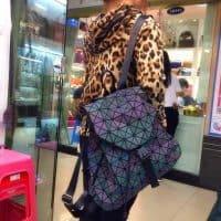 Светящийся в темноте женский рюкзак
