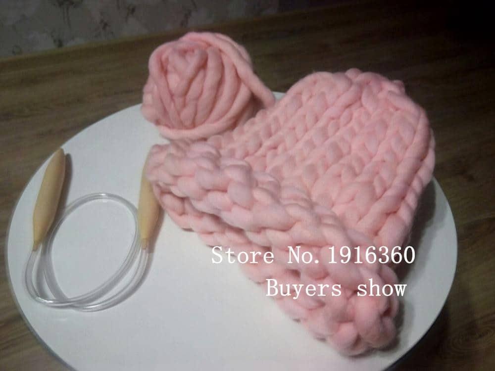толстая пряжа для вязания спицами