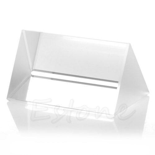 Треугольная стеклянная оптическая спектральная призма