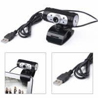 Вебкамера HD 720p USB для компьютера с микрофоном для скайпа