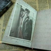 Винтажный ежедневник-блокнот Гарри Поттер 96 листов, с календарем на 2017, 2018, 2019 года