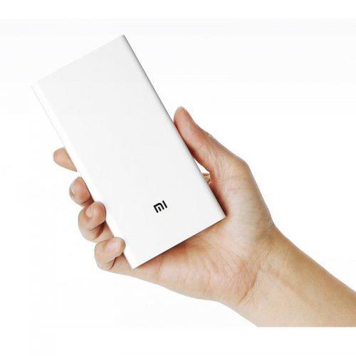 Внешний аккумулятор Xiaomi Mi 20000 mah white powerbank, зарядное устройство