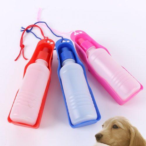 Поилка бутылка для воды для собак в дорогу