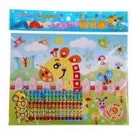 Алмазная мозаика для детей в наборе 2 шт.