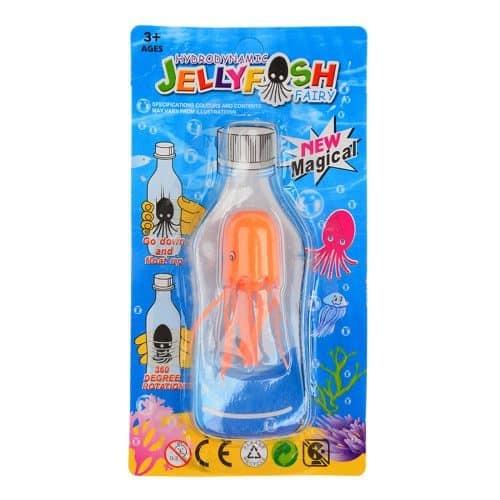Антистресс игрушка волшебная медуза (плавает как настоящая медуза в бутылке, когда вы её крутите)