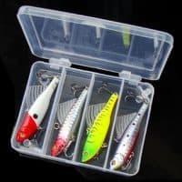 Балансиры приманка для зимней рыбалки 6.5 см, в наборе 4 шт.