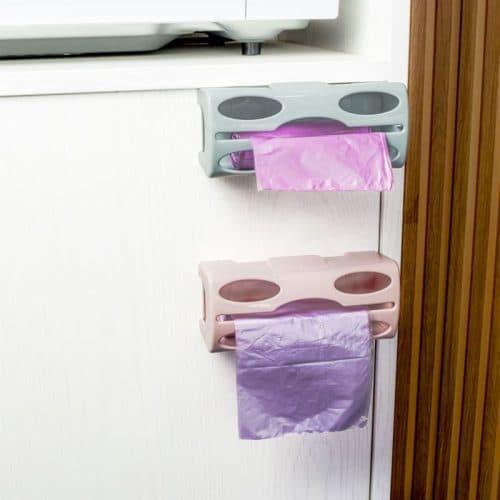 Держатель для мусорных пакетов навесной настенный