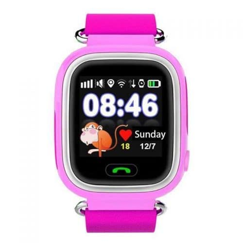 Детские смарт часы с gps трекером с сенсорным экраном Q90/Q80/Q60/Q50