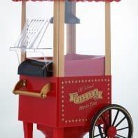 Домашняя машина-тележка для приготовления изготовления попкорна