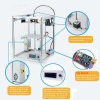 FLYING BEAR P902 высокоточный 3D принтер с большой областью печати