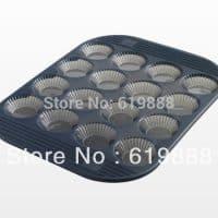 Форма из пищевого силикона с антипригарным покрытием для выпекания тарталеток