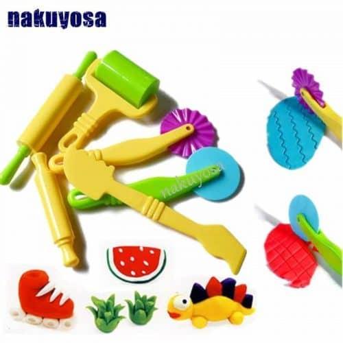 Инструменты для лепки/работы с пластилином, полимерной глиной в наборе 6 шт.