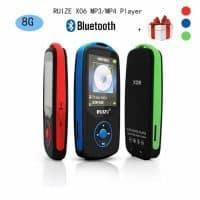 Качественный Bluetooth MP3-плеер RUIZU X06 1.8″, 8 ГБ