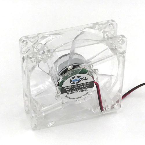 Кулер вентилятор 80 мм с подсветкой для компьютера
