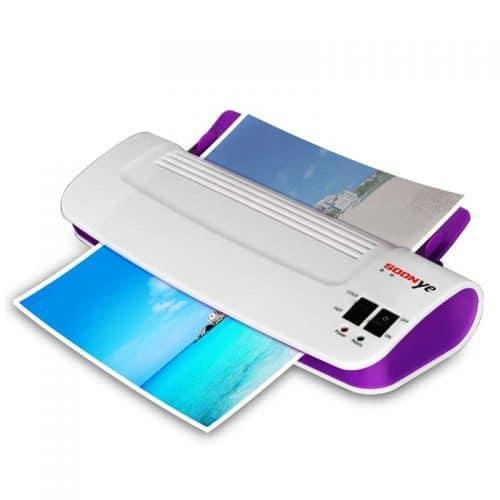 Ламинатор-машина формата А4 для холодного и горячего ламинирования