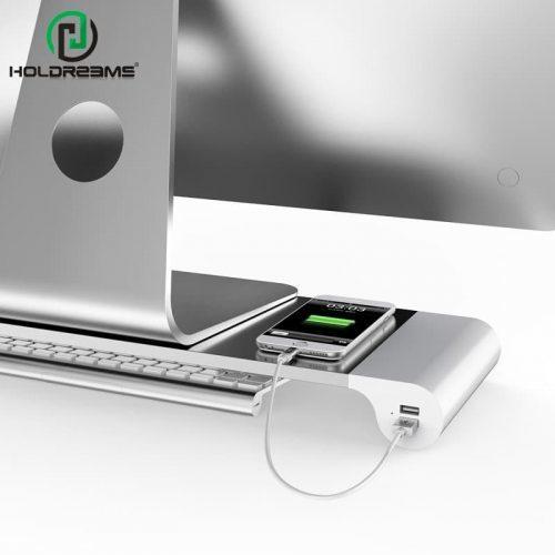 Металлическая подставка под монитор или ноутбук с USB разъёмами-портами