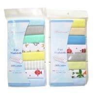 Набор хлопковых полотенец для новорожденных 8 шт.